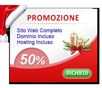 promozione creazione sito web